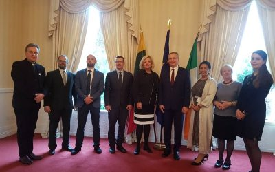 Ireland Lithuania Trade: MOU signed between World Trade Center Dublin & the Lithuanian Chamber of Commerce