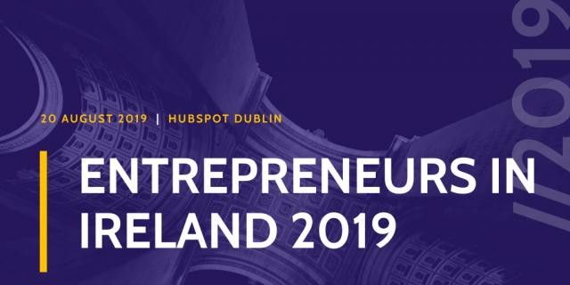 Entrepreneurs in Ireland 2019 - World Trade Center Dublin in Hubspot Dublin