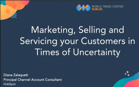 Marketing, Selling and Servicing Your Customers in Times of Uncertainty!