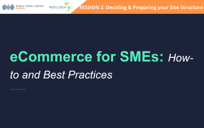 Session 2: eCommerce for SMEs: How To's & Best Practices – Deciding & Preparing your Site Structure