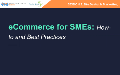 Session 3: eCommerce for SMEs: How To's and Best Practices – Site Design & Marketing