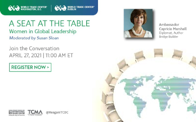 A Seat at the Table: In Conversation with Ambassador Capricia Penavic Marshall