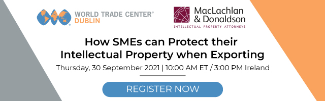 How SMEs can Protect their Intellectual Property when Exporting